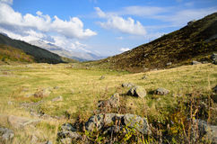 Montanhas em Abakhasia Foto de Stock Royalty Free