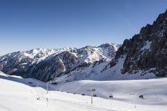 Montanhas em Almaty Imagem de Stock Royalty Free