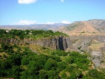 Montanhas em Arménia Imagem de Stock Royalty Free