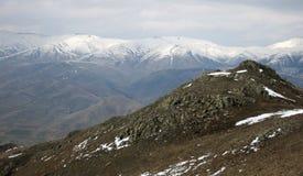 Montanhas em Arménia Foto de Stock