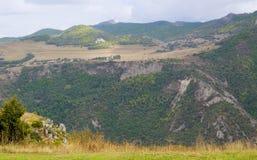 Montanhas em Arménia Natureza da paisagem Fotografia de Stock
