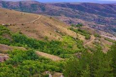 Montanhas em Arménia Natureza da paisagem Imagem de Stock Royalty Free