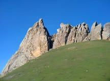 Montanhas em Baku Imagem de Stock Royalty Free