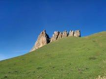 Montanhas em Baku Fotografia de Stock Royalty Free