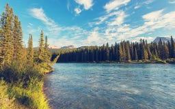 Montanhas em Canadá fotografia de stock
