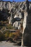 Montanhas em Cappadocia Foto de Stock Royalty Free