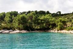 Montanhas em Croatia Fotografia de Stock Royalty Free