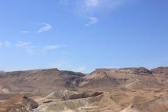 Montanhas em Ein Gedi Fotos de Stock Royalty Free