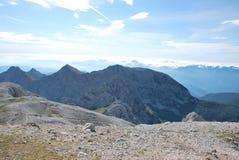 Montanhas em Eslovénia Imagens de Stock