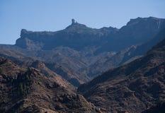 Montanhas em Gran Canaria foto de stock royalty free
