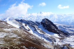 Montanhas em Irã Fotografia de Stock