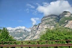 Montanhas em Itália Imagens de Stock