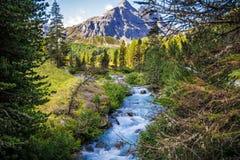 Montanhas em Itália Fotos de Stock Royalty Free