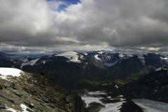 Montanhas em Jotunheimen Foto de Stock Royalty Free
