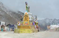 Montanhas em Ladakh, Índia Imagem de Stock