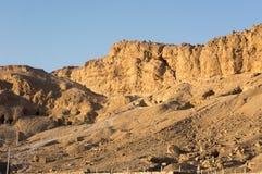 Montanhas em Luxor Egito imagem de stock