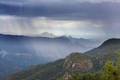 Montanhas em México foto de stock