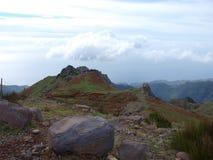 Montanhas em Madeira Foto de Stock Royalty Free