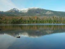 Montanhas em Maine fotos de stock