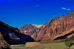 Montanhas em Mendoza fotos de stock royalty free