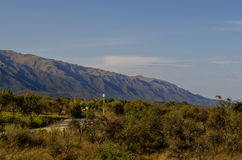 Montanhas em Merlo, San Luis, Argentina Imagens de Stock Royalty Free