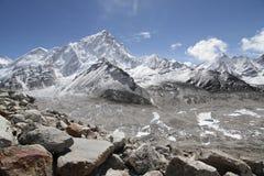 Montanhas em Nepal Fotografia de Stock