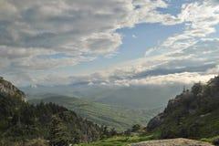Montanhas em North Carolina, EUA Fotografia de Stock Royalty Free