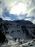 Montanhas em Obertauern Fotos de Stock Royalty Free
