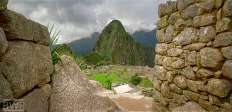 Montanhas em Peru fotografia de stock
