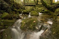 Montanhas em Portugal Fotos de Stock