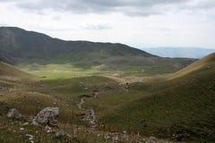 Montanhas em Quirguizistão Imagens de Stock Royalty Free