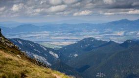 Montanhas em Slovakia Fotografia de Stock