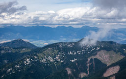 Montanhas em Slovakia Foto de Stock Royalty Free