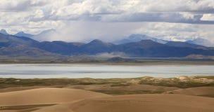 Montanhas em Tibet Fotografia de Stock Royalty Free