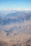 Montanhas em torno de Kabul, Afeganistão Imagens de Stock Royalty Free