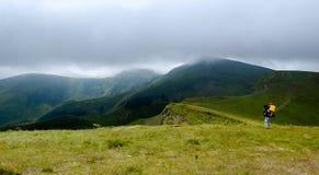 Montanhas em Ucrânia Foto de Stock Royalty Free
