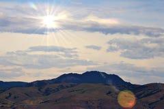 Montanhas em Utá fotos de stock