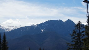 Montanhas em Zakopane Foto de Stock