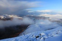 Montanhas escocesas Fotos de Stock