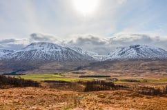 Montanhas escocesas Imagens de Stock Royalty Free