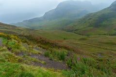 Montanhas escocesas Fotos de Stock Royalty Free