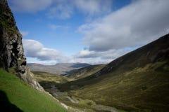 Montanhas escocesas Fotografia de Stock