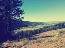 Montanhas escocesas imagens de stock