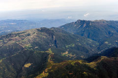 Montanhas espanholas Foto de Stock