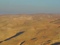 Montanhas estéreis em Amman, Jordânia fotos de stock royalty free