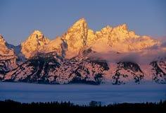 Montanhas grandes de Teton Imagens de Stock Royalty Free