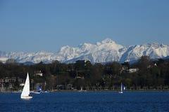 Montanhas Ice-covered Imagem de Stock