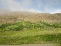 Montanhas islandêsas Fotos de Stock Royalty Free