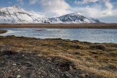 Montanhas islandêsas Imagem de Stock Royalty Free