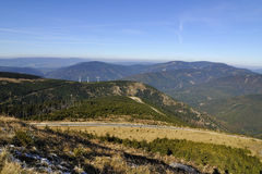 Montanhas Jeseniky Fotos de Stock